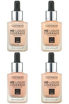 Catrice Neuheiten Herbst 2016 HD Liquid Foundation Collage