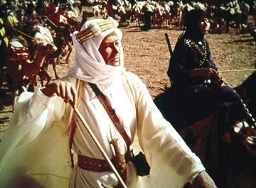 "Oh yeah. Favorite movie - ""Lawrence of Arabia"""