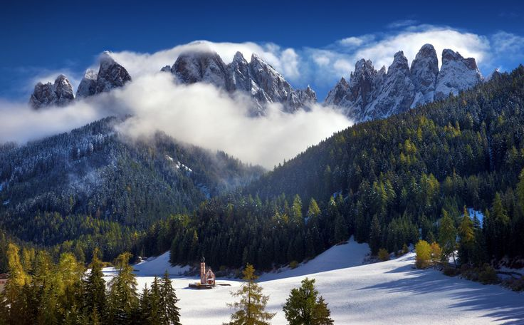 Villnöß in South Tyrol, northern Italy   25 Surreal Places You Won't Believe Actually Exist