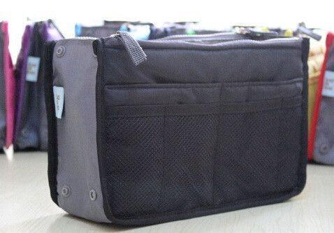Multi-Compartment Purse Organizer