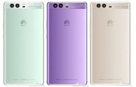 Huawei P10 Featured Fresh Wrapped in Green and Purple