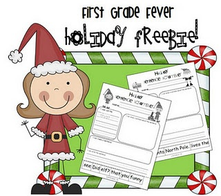 Holiday Sentence Scramblers: Grade Holidays, Sentence Freebie, School Holiday, Grade Fever, Holiday Sentence, Sentence Scrambler, First Grade, 1St Grade