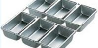 How to Bake in Mini Loaf Pans (converting the recipe's cook time)
