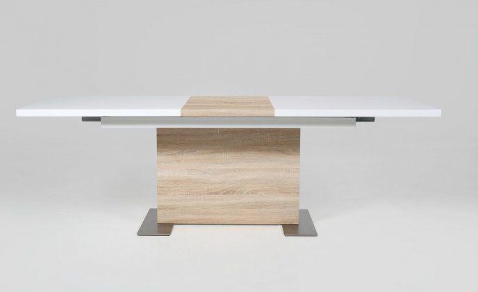 Homelike Saturn Rozkładany stół lakierowany na wysoki połysk 160/210x90 cm H000012555 - Sanit-Express™