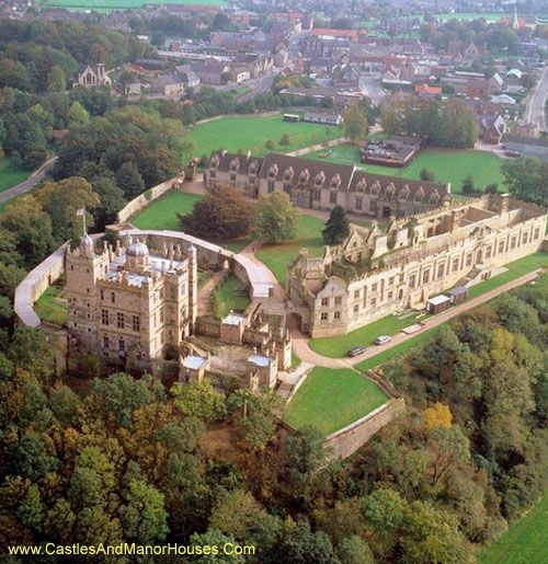 Bolsover Castle, Bolsover, Derbyshire, England - Bolsover Castle was founded in the 12th century by the Peverel family, who also owned Peveril Castle in Derbyshire. The site is now in the care of English Heritage and is a Grade I listed building and a Scheduled Ancient Monument.