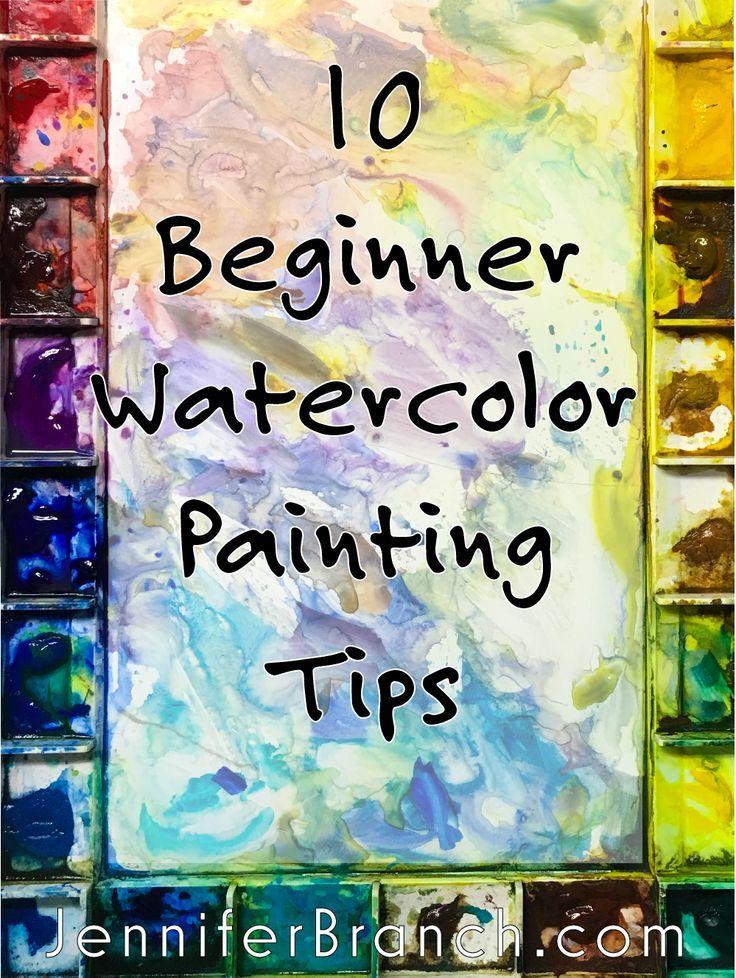 10 Watercolor Hacks For Beginners Watercolor Paintings For