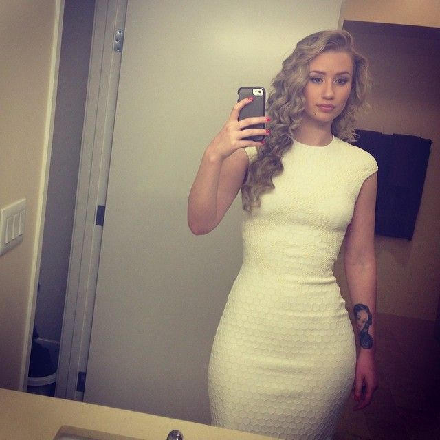 Ashley Balmaceda  Bathroom Selfie Love This Dress It -9198
