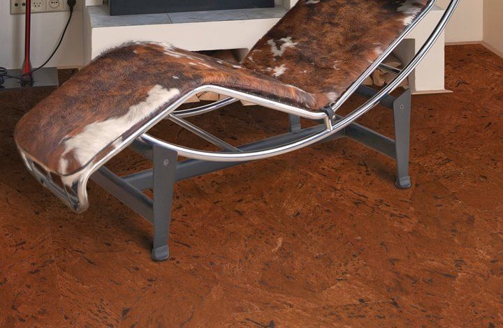 Collections, Corkcomfort, Gallery - Wicanders - world reference in cork flooring - Leather Nut