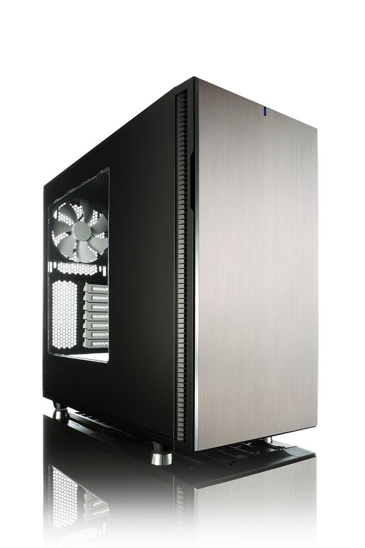 Fractal Design Define R5 Titanium with Window Cases FD-CA-DEF-R5-TI-W