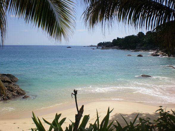 White Beach Suriname.