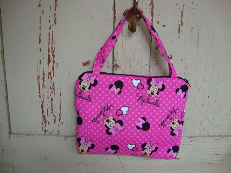 Pink Minnie Childs Purse by EYPDesigns on Etsy