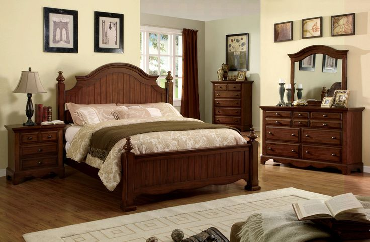 Morrens Transitional Panel Bed – Modish Store