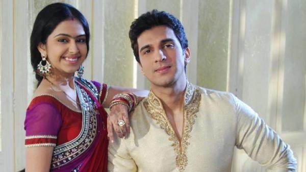 Avika Gor with Manish Raisinghani