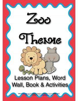 One week preschool zoo theme download.