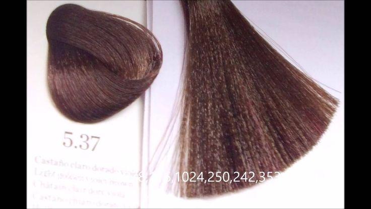 Teñir el cabello color chocolate con tinte castaño claro dorado y castañ...