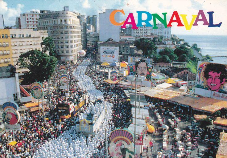 Carnival, Brazil - Postcard