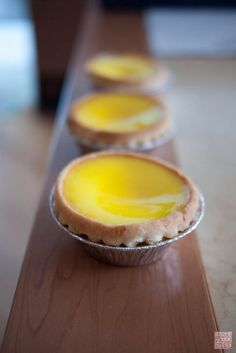 egg custard tarts (traditional Chinese New Year treat!) - scroll to the waaaay bottom for the recipe