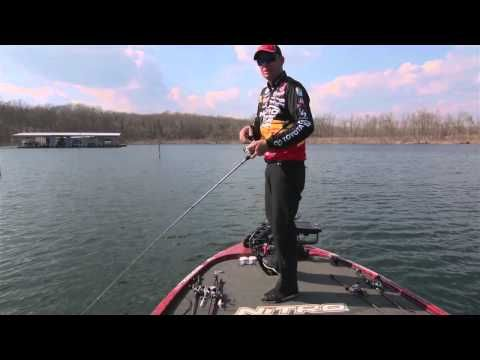 How to make a jerkbait dance wired2fish scout for Wired 2 fish