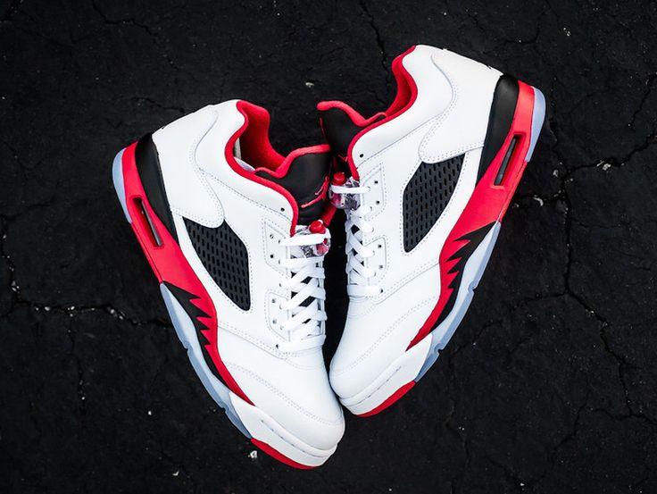 Air Jordan 5 Low Fire Red 1