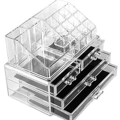 Cosmetic Make Up Clear Acrylic Organiser 20 Sections with Drawers #89 Macallen http://www.amazon.co.uk/dp/B00A4DIV7C/ref=cm_sw_r_pi_dp_BrVvwb0QZ917N