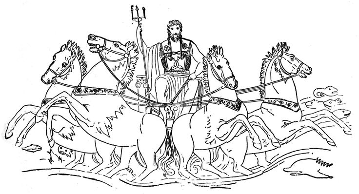 B Poseidon Coloring Pages