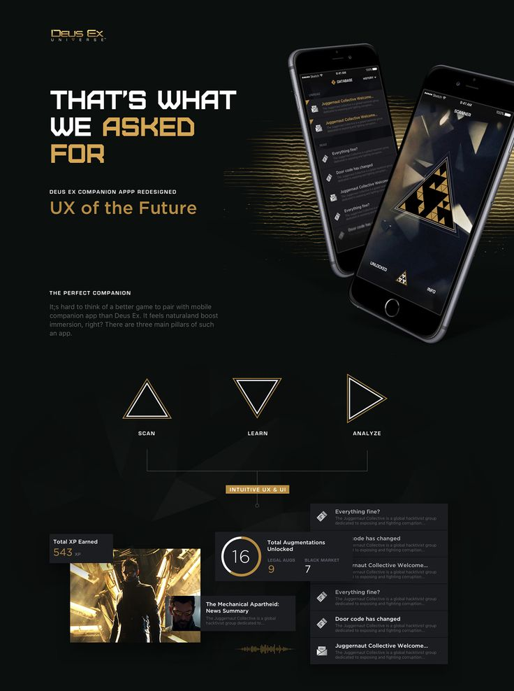 Deus Ex Universe 2.0 on Behance