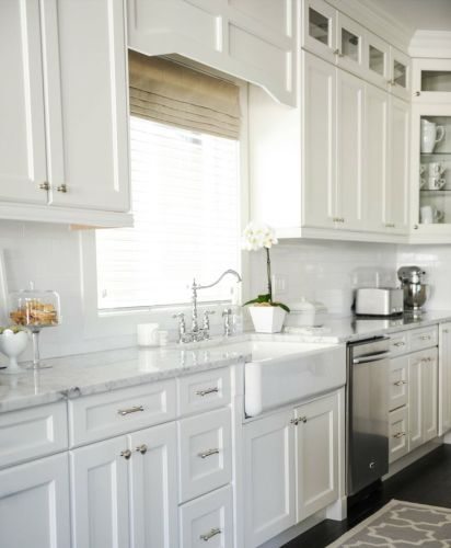 Hardware For White Kitchen Cabinets: 16 Best Cabinet Hardware Placement Images On Pinterest