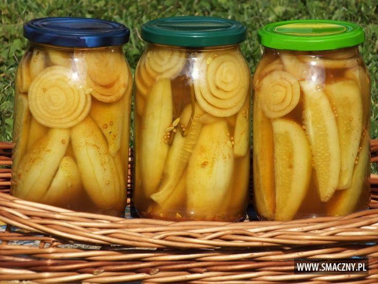Ogórkowe #pikle - mmm... pyszne są:  http://www.smaczny.pl/przepis,ogorkowe-pikle-z-curry  #przepisy #przetwory #ogórki #warzywa #lato #cebula #curry #gorczyca