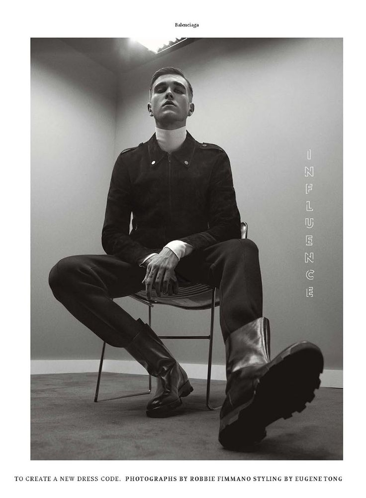 Military Influence: Gabriel Kane Day Lewis Stars in Details Editorial