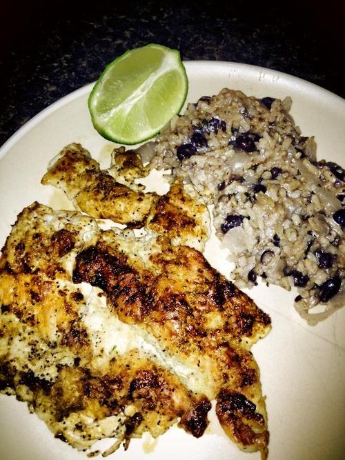 Cuban chicken, rice and beans. YUM. | Bare Eats Tumblr | Pinterest ...