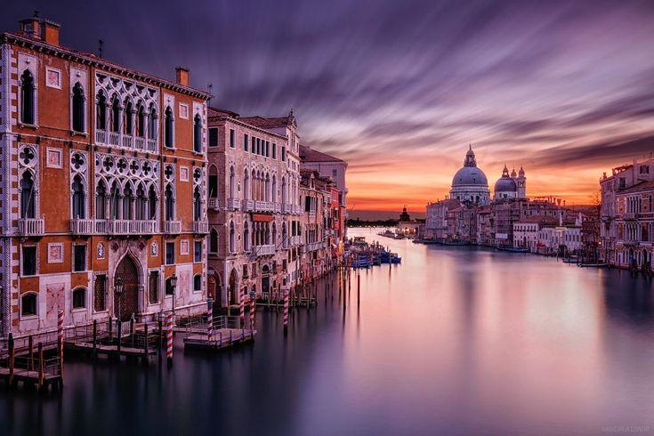 Sunrise in Venice by Andrea Livieri