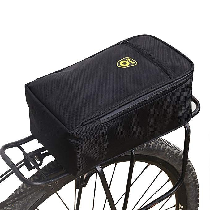 Cycling Bike Bicycle Rear Tail Seat trunk Bag Pannier Pouch Rack For Travel NEW