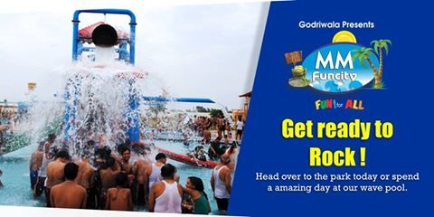 Get ready to rock ! Head over to the park today or spend a amazing day at our wave pool. There will be fun, food, drinks, and more all happening on our dance floor.