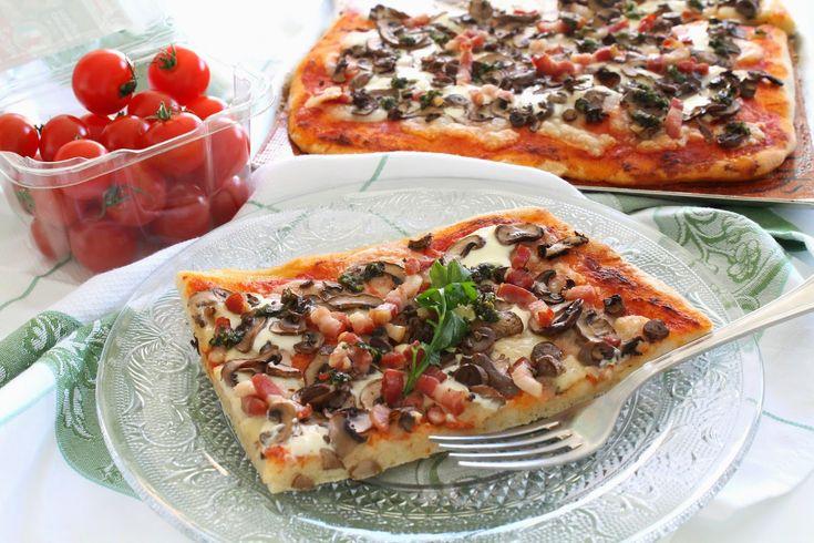 Pizza Romana façon Giuseppe Mongelli