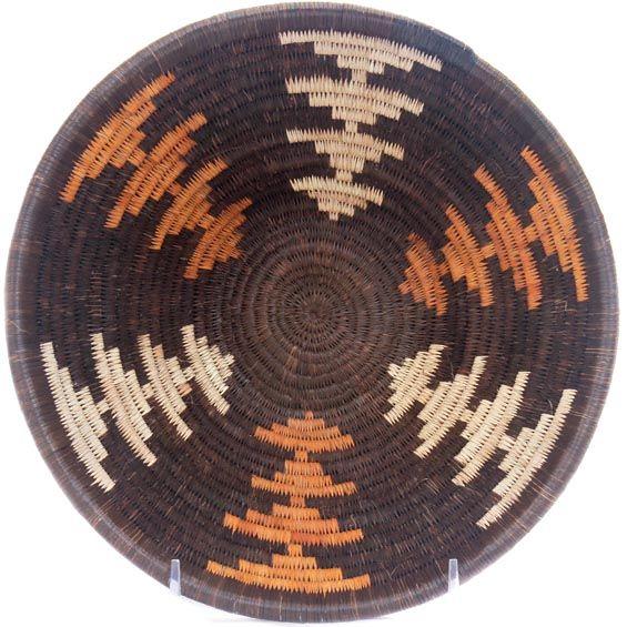 Masterweave African Basket - Botswana -  8 Inches Across - #47830