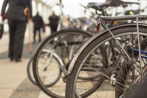 Bikes at the QE...
