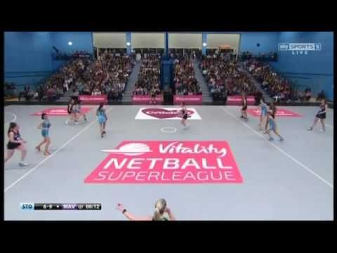 2016 Netball SuperLeague-Surrey Storm vs Hertfordshire Mavericks--Semi F...