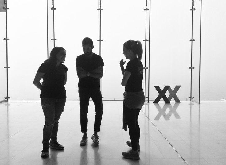 """""""3 x X #TEDxThess16 Photo by @dimitristzouris #TEDx"""""""