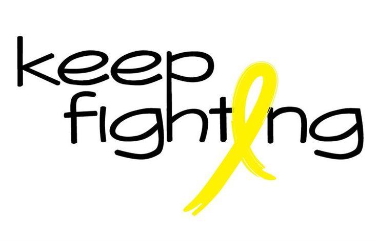 Yellow Bone Cancer Ribbon