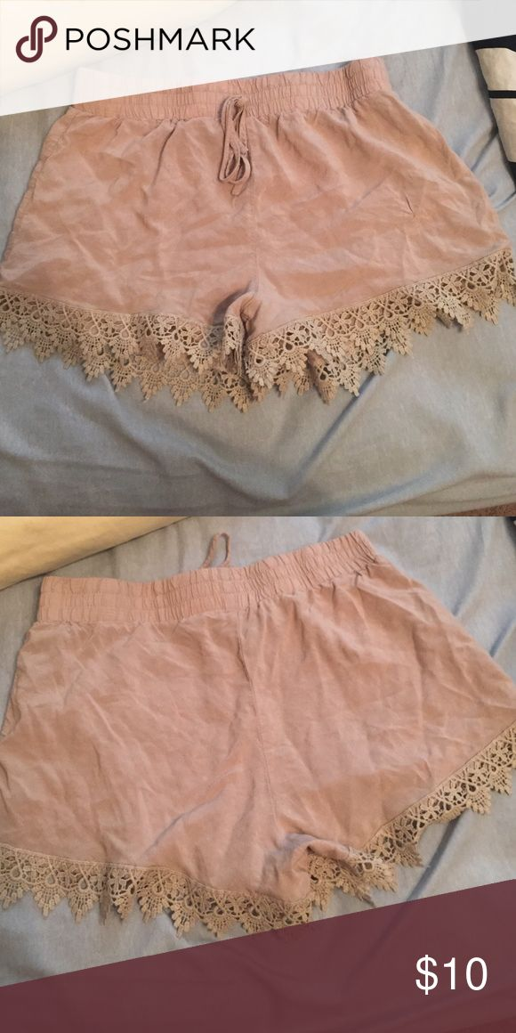 Cute nude shorts Perfect condition Shorts