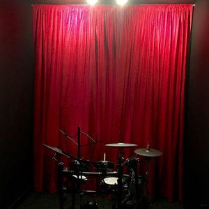 Stand Out On Your Next Gig by Adding some of our Elegant & Affordable 100% cotton Velvet curtains that will Make Any Rock Band Stage Stand Out from the Rest! See our Full Line of Custom Made 100% Cotton Velvet Curtains we have in stock by visiting our site today at www.LushesCurtains.com