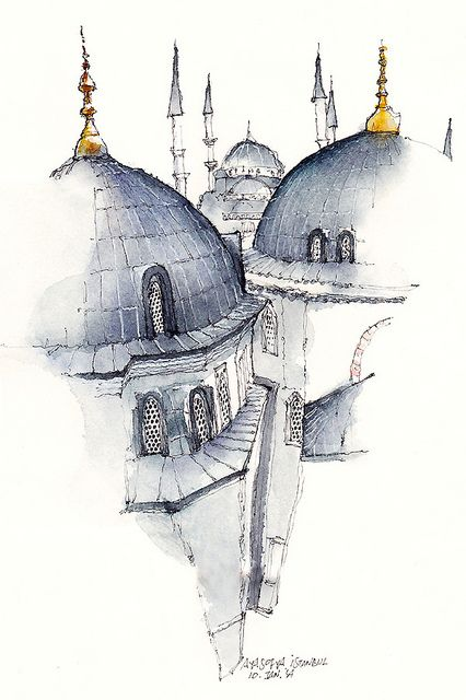 ayasofia, istanbul, turkey by park sunga, via Flickr