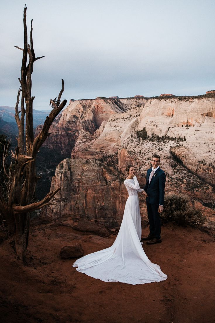 Zion National Park Hiking Elopement Utah Adventure Wedding Photographer Adventure Wedding Elopement Photographers In Moab Yosemite And Beyond The Hear Adventure Wedding Photographer Adventure Wedding Elope Wedding