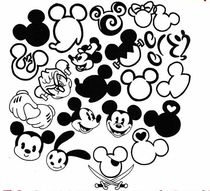 Small mickey mouse tattoo ideas