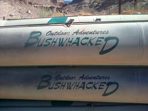 Bushwacked Outdoor Adventures - canoe trip on the Orange River.