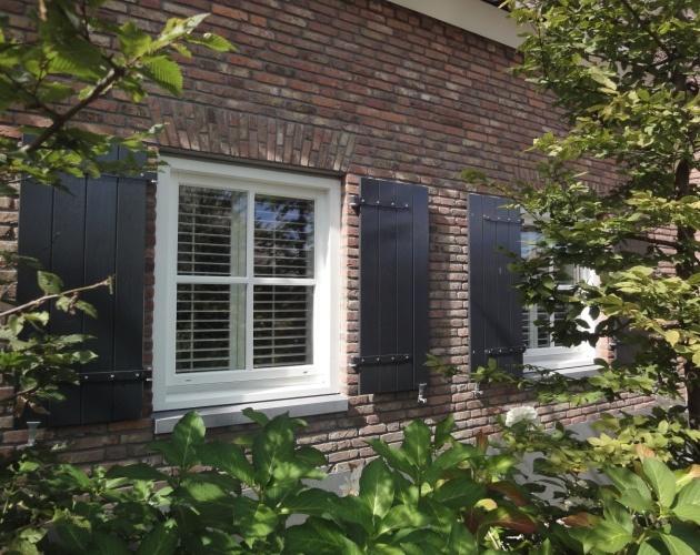 Buitenaanzicht - luiken, binnen shutters