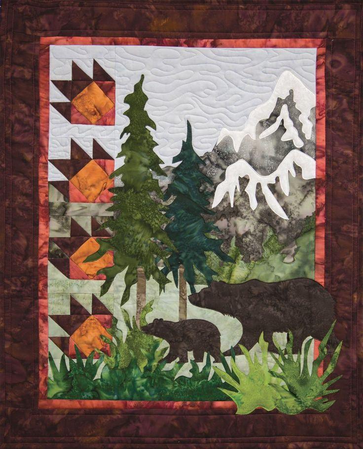 Landscape Quilt Patterns Kits : 99 best images about Quilt Art on Pinterest Quilt, Landscape quilts and Machine applique