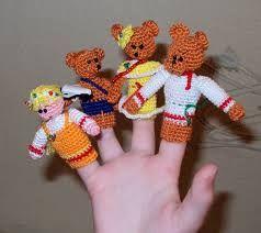 Картинки по запросу вязаные игрушки крючком для пальчикового театра