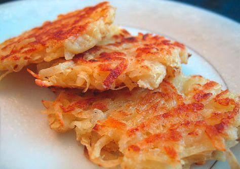 Рецепт Вкусные драники постные из картофеля в духовке. Приготовление блюда