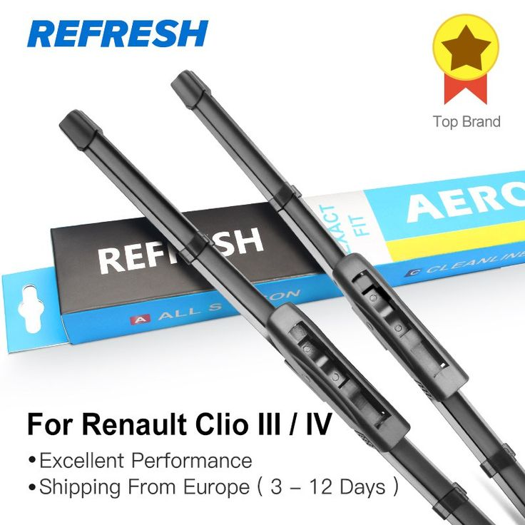 Cheaper US $12.64  REFRESH Wiper Blades for Renault Clio III / IV Bayonet Arms 2005 2006 2007 2008 2009 2010 2011 2012 2013 2014 2015 2016 2017  #REFRESH #Wiper #Blades #Renault #Clio #Bayonet #Arms  #CyberMonday